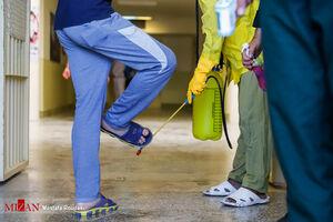 عکس/ آزادی زندانیان از ندامتگاه مرکزی تهران بزرگ