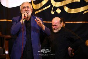 صوت/ عزاداری شب تاسوعا با نوای حاج منصور ارضی و سازور
