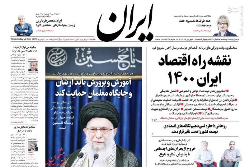 ایران: نقشه راه اقتصاد ایران ۱۴۰۰