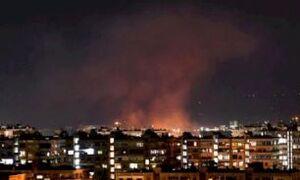 فیلم/ مقابله پدافند هوایی سوریه با موشکهای صهیونیستی