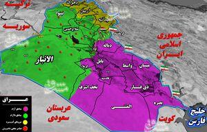 آخرین تحولات میدانی عراق/ جزئیات عملیات در مسیر تجاری «تهران - بغداد» + نقشه میدانی