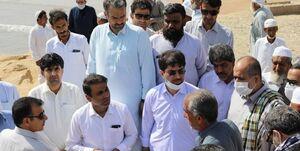 بازدید نمایندگان از جنوب استان سیستان و بلوچستان