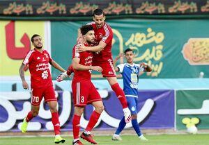 تعداد زیاد تماشاگران در ورزشگاه امام رضا +عکس
