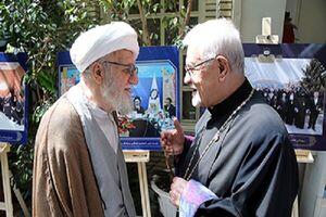 خلیفه ارامنه تهران: آیتالله تسخیری الگوی گفتگو میان اسلام و مسیحیت بود
