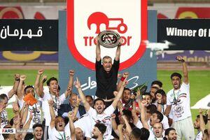 عکس/ قهرمانی تراکتور در جام حذفی