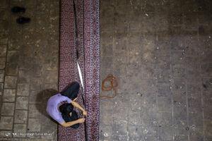 عکس/ مرگ فرش ایرانی