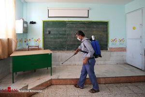 عکس/ آماده سازی مدارس برای آغاز سال تحصیلی جدید