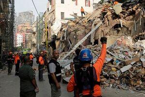 ادامه جستوجو زیر آوارهای بیروت در پی دریافت سیگنال حیات؛ دستور میشل عون به نجاتگران - کراپشده