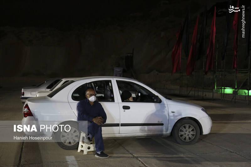 2906409 - عکس/ سوگواری خودرویی در شیراز