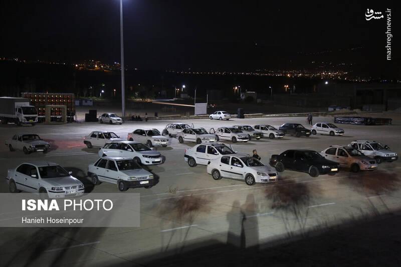 2906414 - عکس/ سوگواری خودرویی در شیراز