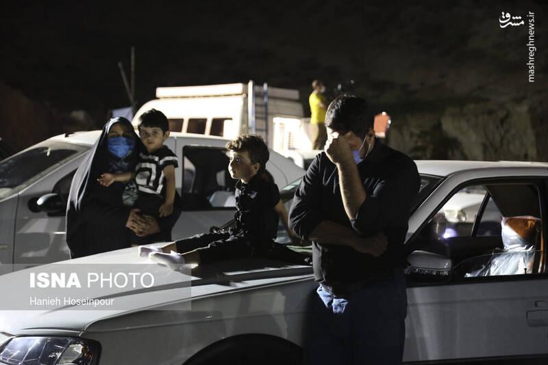2906415 - عکس/ سوگواری خودرویی در شیراز