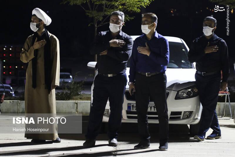 2906417 - عکس/ سوگواری خودرویی در شیراز