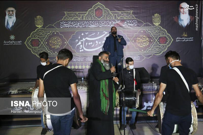 2906420 - عکس/ سوگواری خودرویی در شیراز