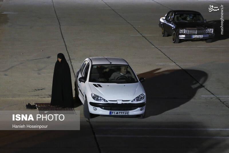 2906421 - عکس/ سوگواری خودرویی در شیراز