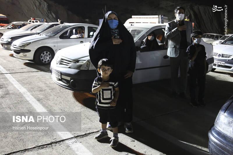 2906425 - عکس/ سوگواری خودرویی در شیراز