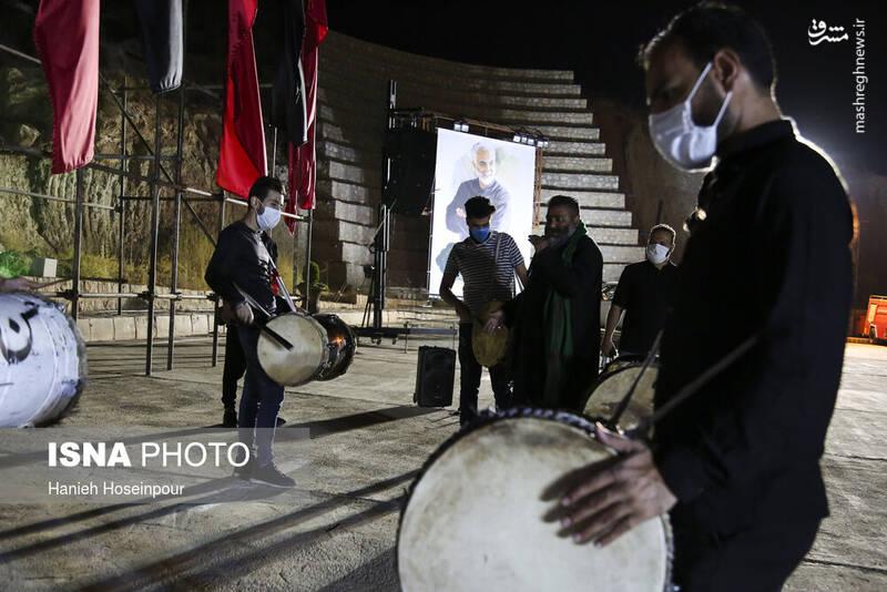2906427 - عکس/ سوگواری خودرویی در شیراز