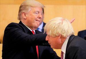 سفیر سابق انگلیس: جانسون همیشه مجذوب ترامپ بود
