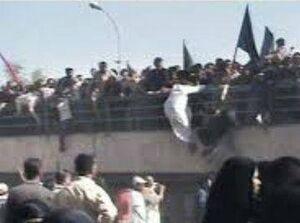 """قهرمان حادثه تلخ """"جسر الائمة"""" عراق چه کسی بود؟ +عکس"""