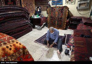 عکس/ کرونا تار و پود بازار فرش را بر هم ریخت
