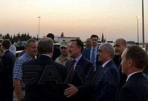 یک هیئت عالی رتبه روسی وارد دمشق شد