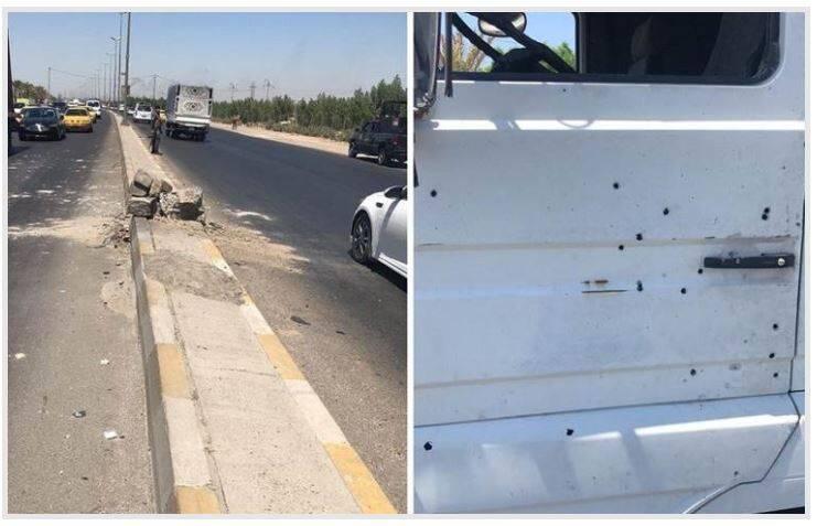 2908616 - حمله به خودروی ائتلاف آمریکایی در عراق +عکس
