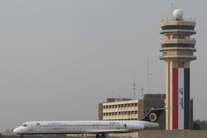 حمله راکتی به بخش نظامی فرودگاه بینالمللی بغداد