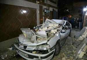 عکس/ خسارتهای زلزله ۵.۱ ریشتری در رامیان