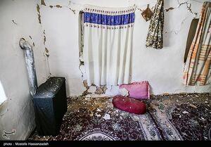 عکس/ خسارات زلزله در رامیان استان گلستان