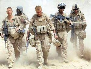 نیروی نظامی آمریکا در افغانستان