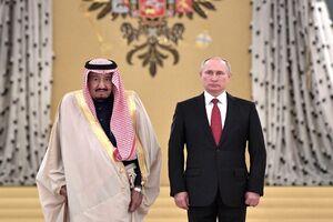 پوتین و ملک سلمان - کراپشده