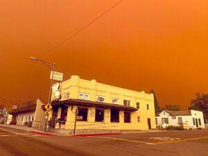 تصویری وحشتناک از کالیفرنیا