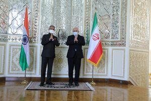 عکس/ دیدار وزیر خارجه هند با ظریف