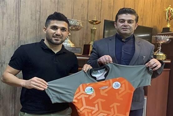 گلزن بوشهری به تیم فوتبال سایپا پیوست