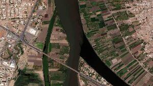 تصاویر ماهوارهای از سیل در سودان