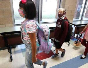 ابتلای بیش از نیم میلیون کودک آمریکایی به کرونا