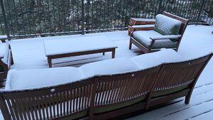 بارش برف زودرس در ایالت کلورادو آمریکا