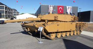 عکس/ ارتقاء بومی حفاظتی برای تانک های ترکیه