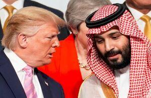 بن سلمان و ترامپ