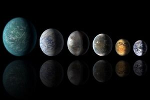 کشف ۴۵ سیاره دوردست مشابه زمین که آب مایع دارند
