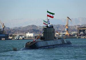 اولین حضور زیردریایی ایرانی فاتح در رزمایش ارتش