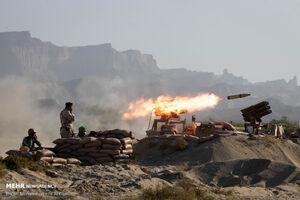 عملیات تاخت آبخاکی تکاوران ارتش در رزمایش ذوالفقار