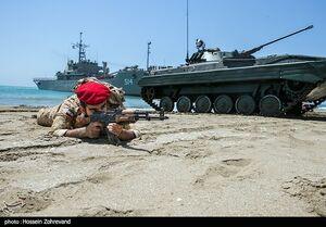 عکس/ عملیات بیچینگ در رزمایش ذوالفقار ۹۹ ارتش