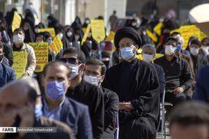 عکس/ اجتماع مردم اردبیل در اعتراض به هتک حرمت ساحت پیامبر