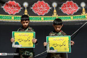 عکس/ تجمع مردم قزوین در حمایت از پیامبر اعظم