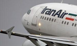 فیلم/ آتش گرفتن موتور هواپیمای خط تهران دزفول!