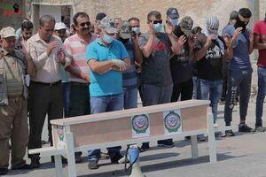 فیلم/ تشییع نمادین تابوت اتحادیه عرب