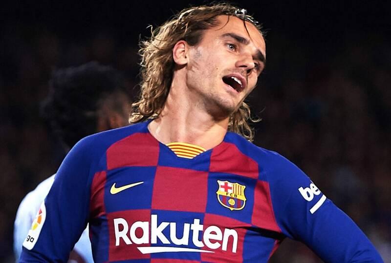 شماره ۷ بارسلونا به گریژمان رسید