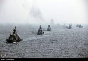 عکس/ رژه دریایی رزمایش ذوالفقار ۹۹ ارتش