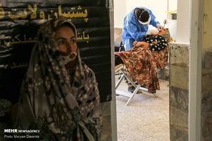 عکس/ اردوی جهادی پزشکی در مناطق عشایرنشین