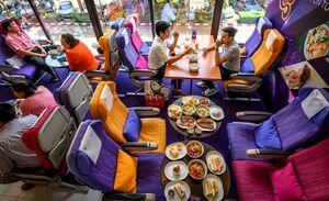رستورانی به سبک هواپیما